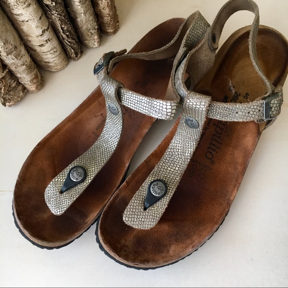 25cc8fd9a76 Birkenstock Shoes - Papillio by Birkenstock Leather Ashley Wedge sz 40